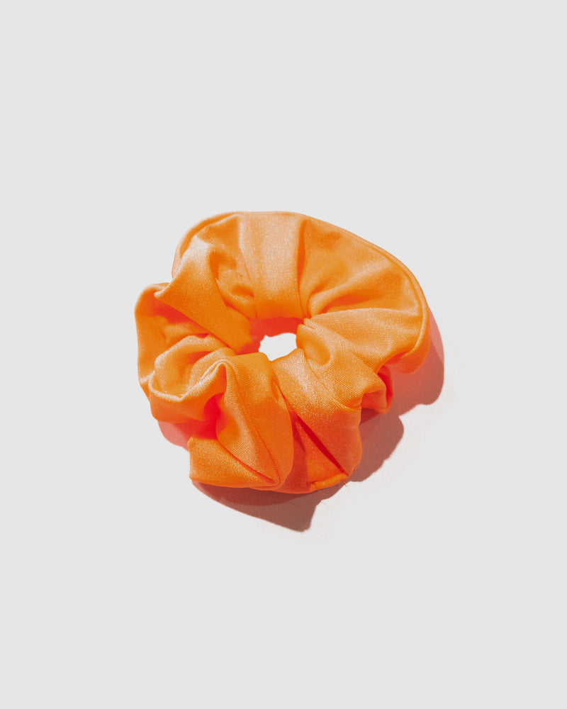 <b>Bermuda</b><br>Orange Neon Scrunchie<br>Sustainable Australian Swimwear