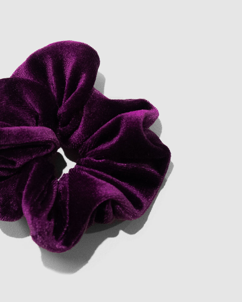 <b>Maui</b><br>Zappo Velvet Scrunchie<br>Sustainable Australian Swimwear