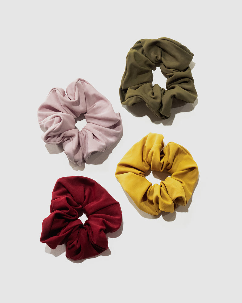 <b>Capri</b><br>Classic Scrunchie 4-Pack<br>Sustainable Australian Swimwear