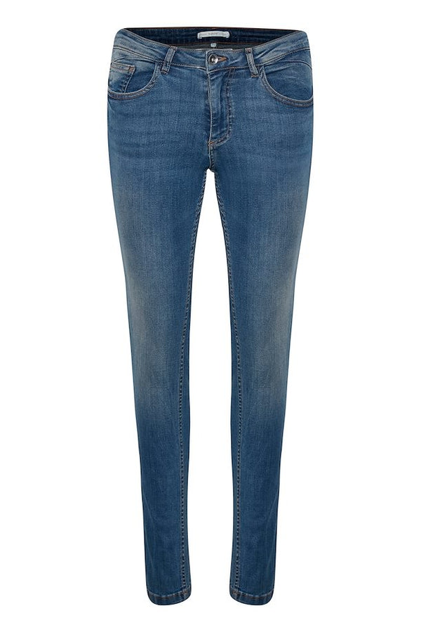 "b.young Lola Luni Jeans 32"" - Antique Blue"