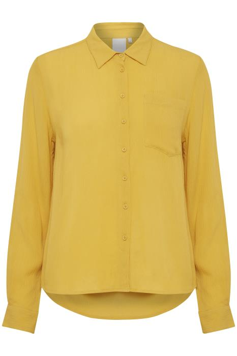 Ichi Athena Shirt - Buff Yellow