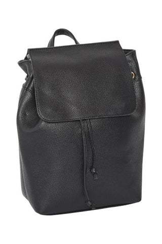 Ichi Black Double Strap Bag