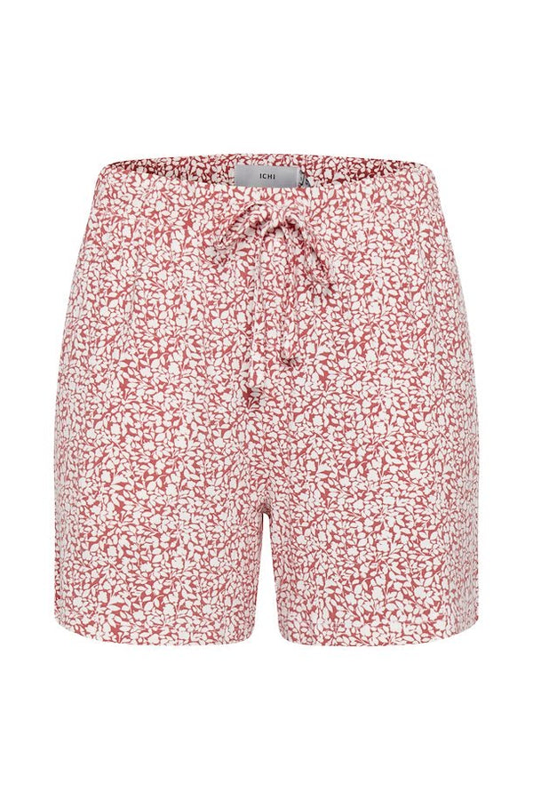 Ichi Emmie Floral Printed Shorts - Baroque Rose