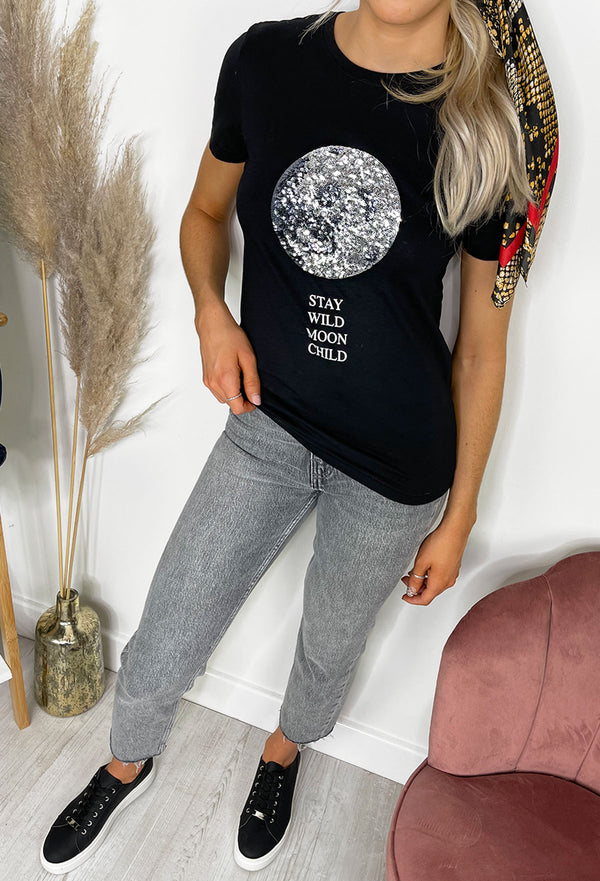 ONLY Kita Organic Cotton Stay Wild T-Shirt
