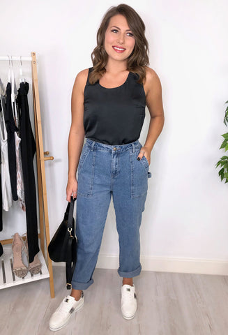 London Denim Mom Jeans