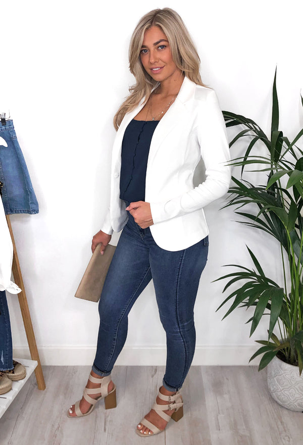 Jennifer Blazer - White