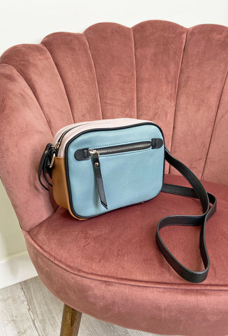 Ichi Block Colour Crossbody Bag
