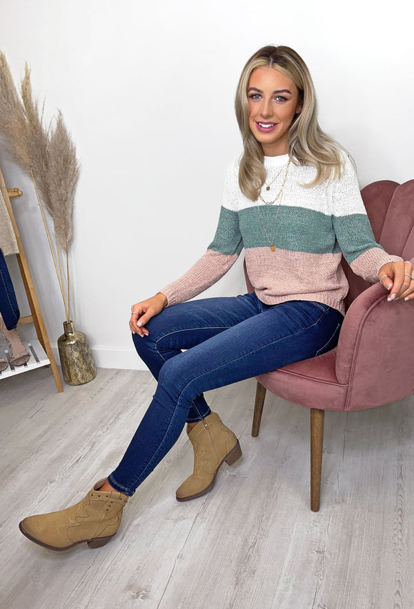 ONLY Geena Striped Jumper