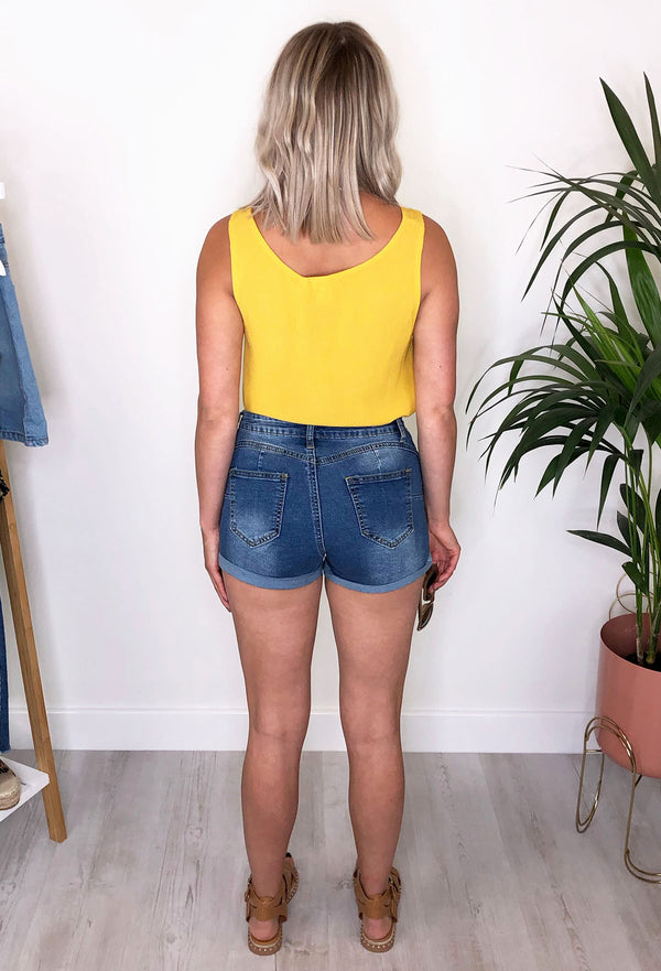Connie Denim Shorts