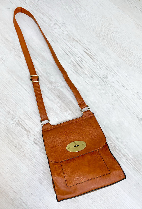 Sierra Cross Body Bag - Tan