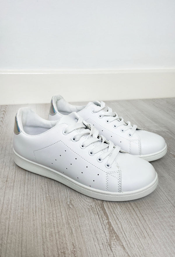 Adelaide White Trainers