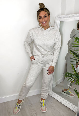 ONLY Comfy Loungewear Pants - Oatmeal