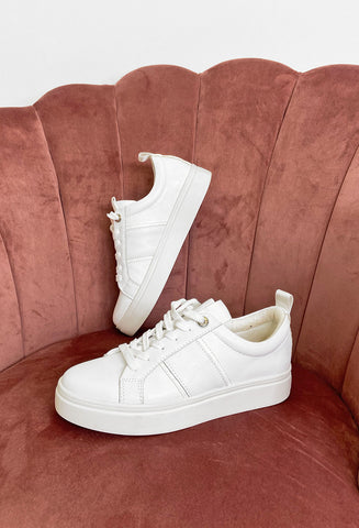 Fabs Abbie White Sneakers