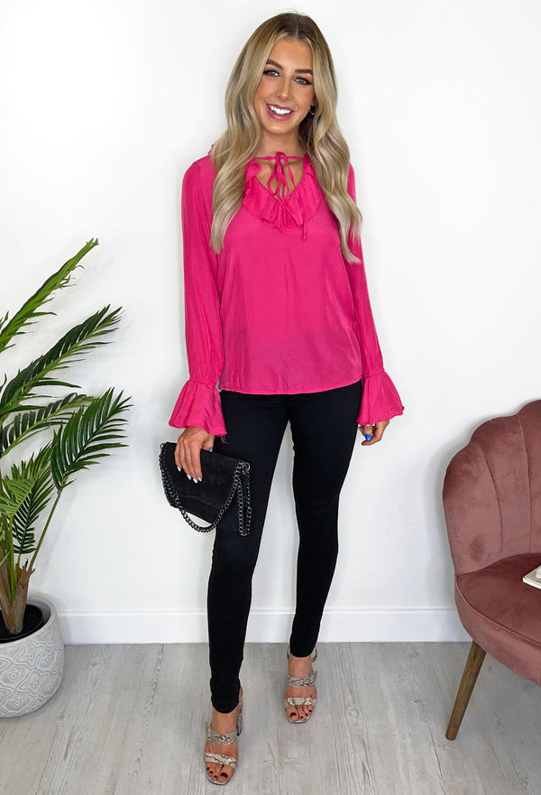 Sephora Hot Pink Blouse