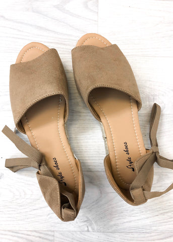 Ashley Chunky Mocha Sandals