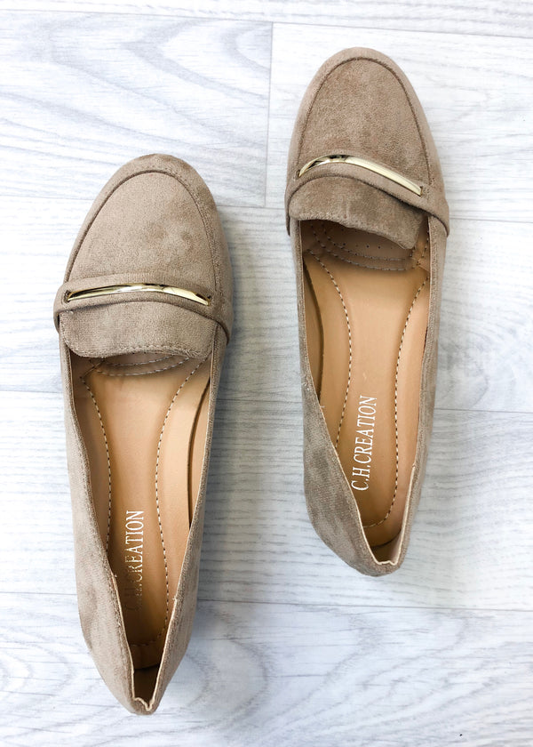 Alexa Loafers - Beige