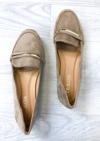 Alexa Loafer - Beige