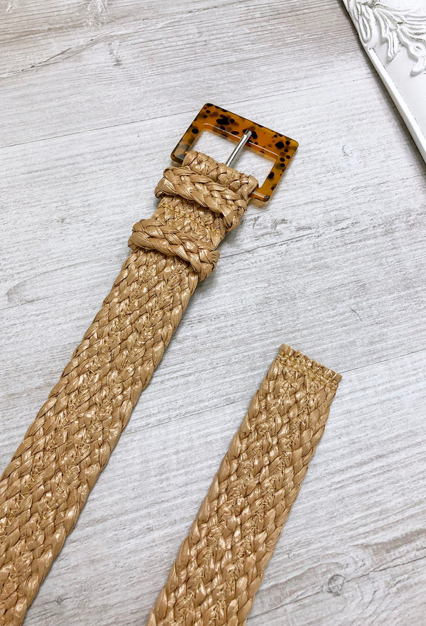 Wander Wicker Belt
