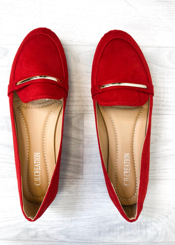 Alexa Loafer - Red