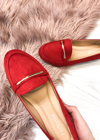 Alexa Loafers - Red