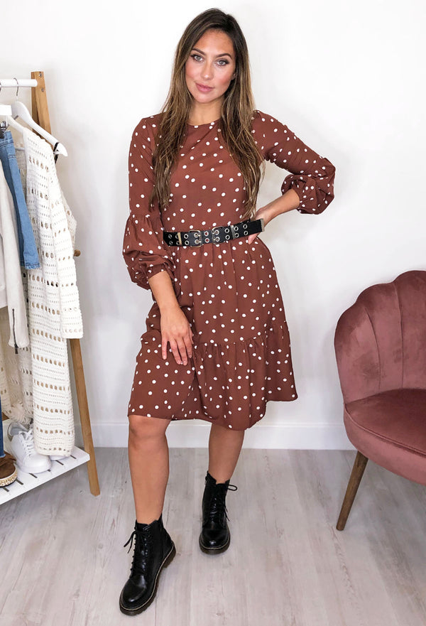 Rury Rust Smock Dress