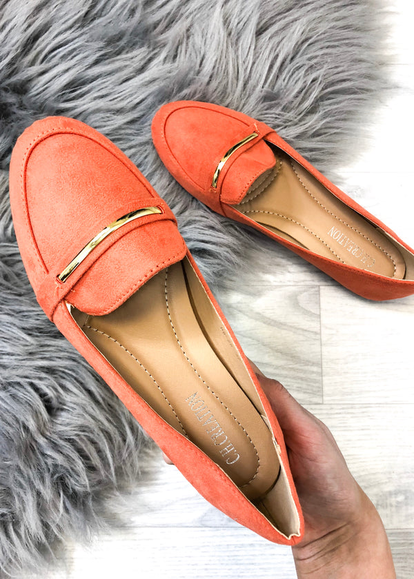 Alexa Loafers - Orange