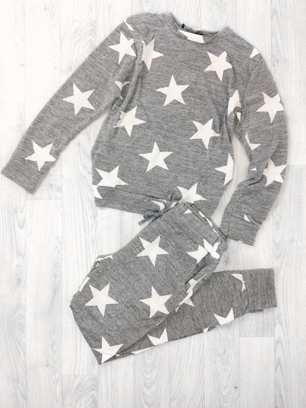 Cameron Star Print Loungewear Set