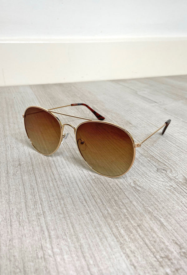 Luna Sunglasses - Gold