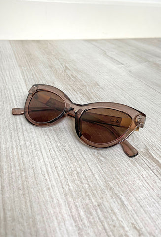Luna Sunglasses - Transparent