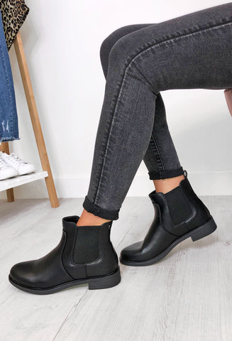 Francis Chelsea Boots - Black