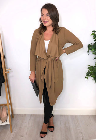 Catalina Waterfall Jacket - Toffee