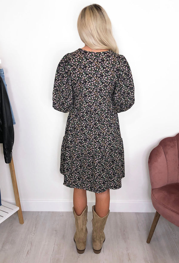 ONLY Zille Ditsy Smock Dress - Short