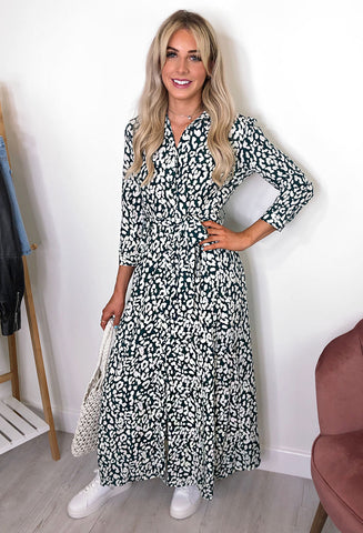 Josie Maxi Shirt Dress