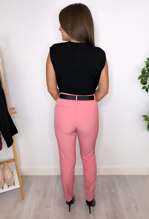Chelsea Tailored Trousers - Pink
