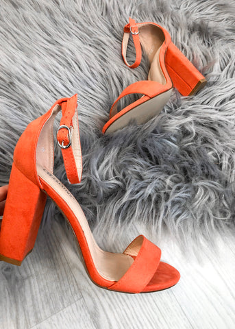 Camille Sandals - Coral