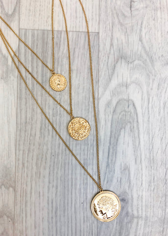 Goldie Coin Necklace