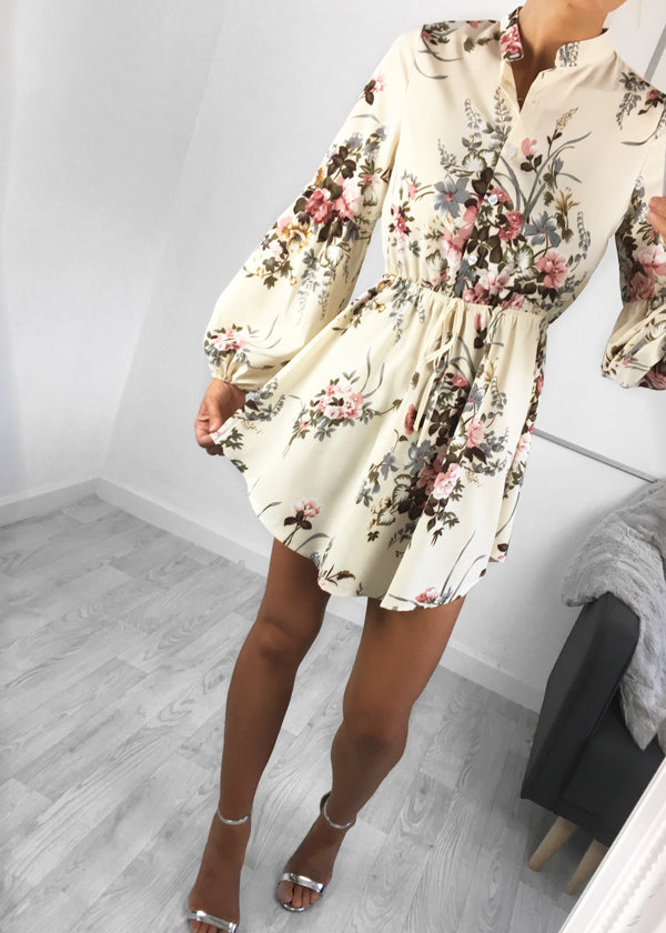 Annie Floral Shirt Dress