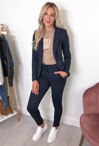 ICHI Kate Blazer - Navy