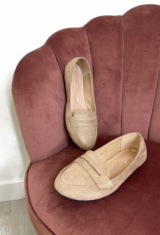 Gracie Loafers - Beige