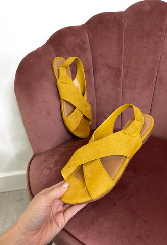 Kennedy Sling Back Sandal - Yellow