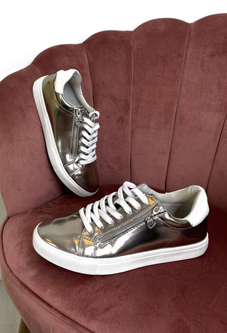 Paloma Pewter Sneakers
