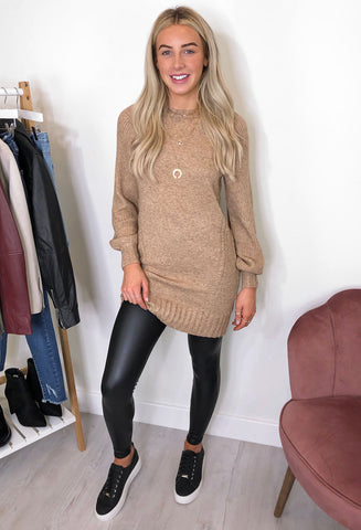 ONLY Sandy Jumper Dress - Stone