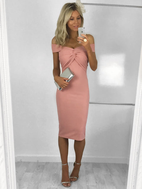 Jodie Knot Midi Dress
