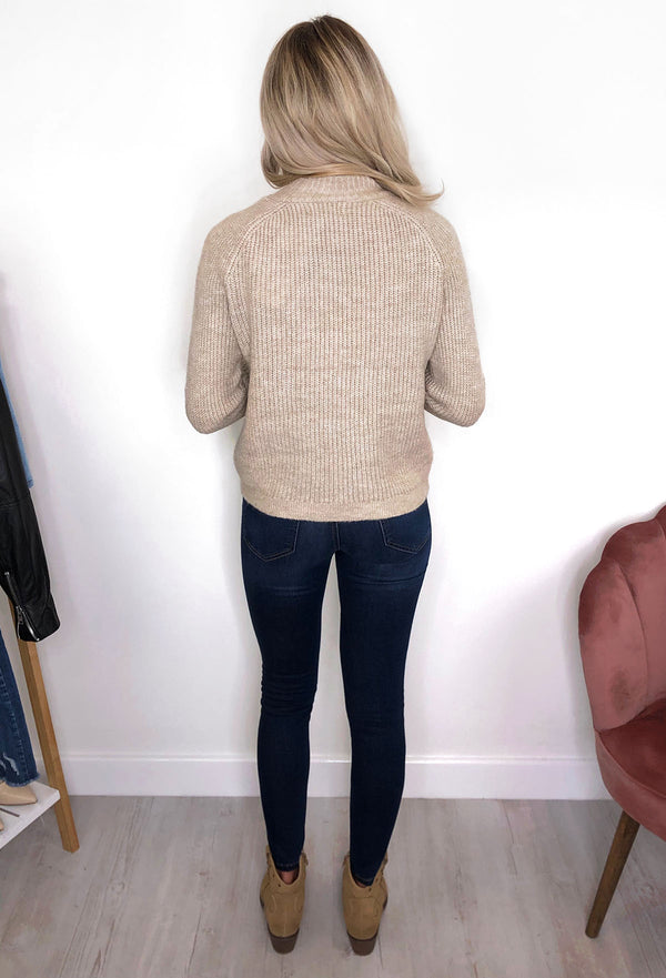 ONLY Jade Pullover - Beige