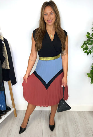 Darissa Pleated Skirt