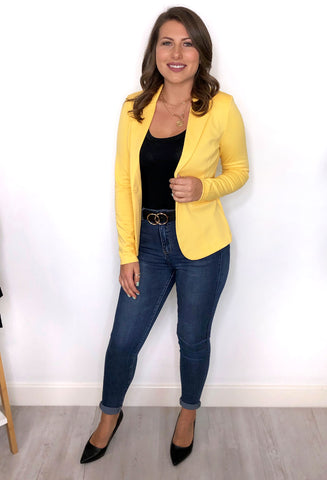 Ichi Jennifer Blazer - Yellow