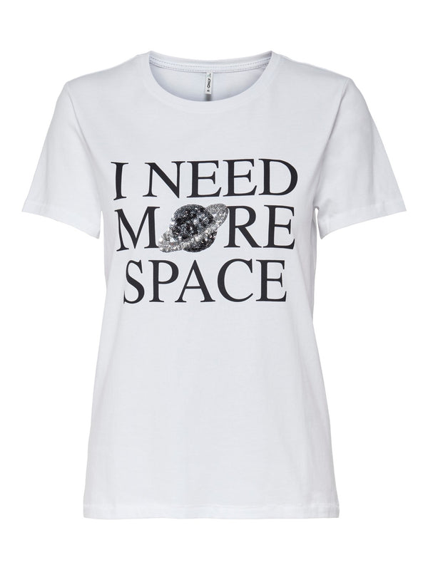 ONLY Kita Organic Cotton Space T-Shirt