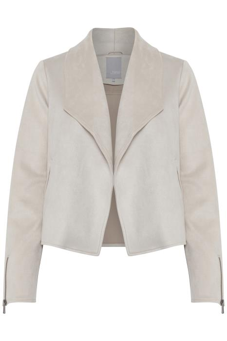 Fransa Jude Waterfall Jacket - Cream