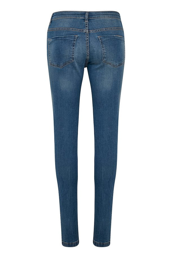 "b.young Lola Luni Jeans 30"" - Antique Blue"