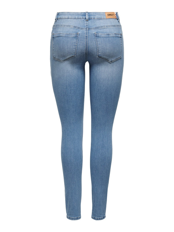 ONLY Mauw Mid Rise Skinny Jeans - 34""